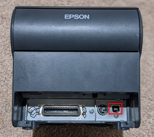 EPSON Printer's USB port